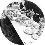 식탁위의 음식사진2